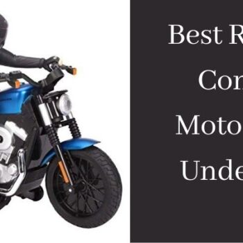 Best Remote Control Motorcycle Under $50
