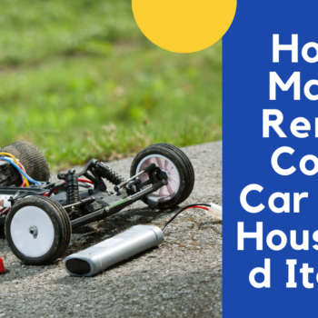 Make a Remote Control Car from Household Items